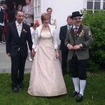 Hochzeit Schadn & Mahr in Hardegg, 28.05.2011