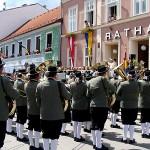 Bezirksmusikfest und Marschwertung 2011 in Ravelsbach
