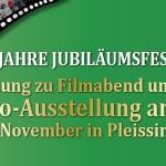 Einladung: Filmabend und Foto-Ausstellung in Pleissing