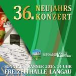 36. Neujahrskonzert (2016) CD Cover