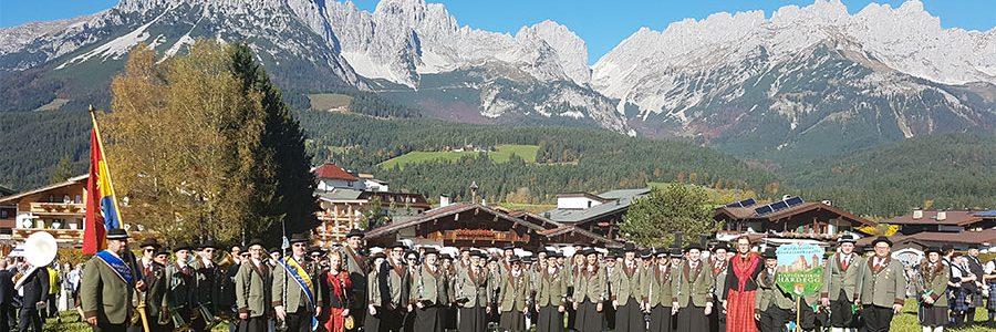 Blasmusik-Festival am Wilden Kaiser in Tirol!