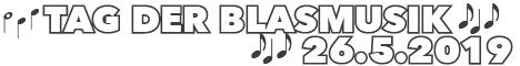 Besuchen Sie den Tag der Blasmusik 2019