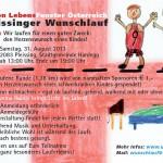 1. Pleissinger Wunschlauf 2013