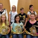 Erste Probe für unsere Jungmusiker